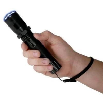 Taser shocker 2 000 000 volts LED + dragonne - tazer noir