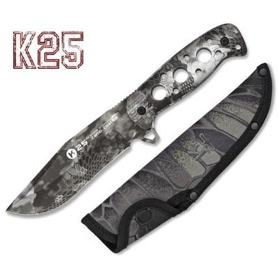Poignard couteau 24,7cm full tang titane K25 Cobra