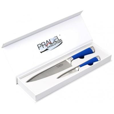 Coffret Pradel Evolution 2 couteaux - bleu C8212
