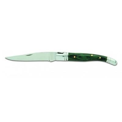 Couteau pliant 18,5cm bois pakka - VA2076