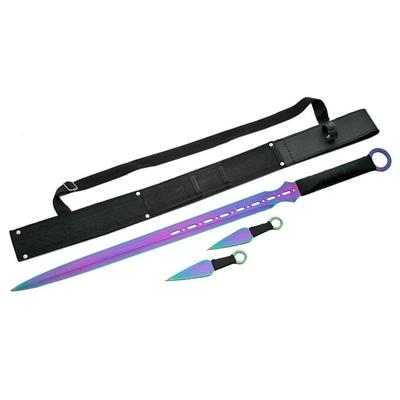 Pack Katana ninja et 2 kunaïs - épée4