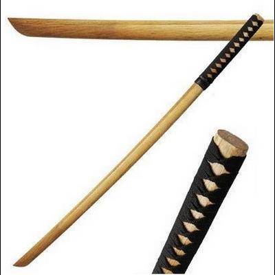 Bokken d'entrainement 80cm katana bois