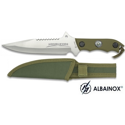 Poignard horizon 29cm + boussole - Couteau ALBAINOX..