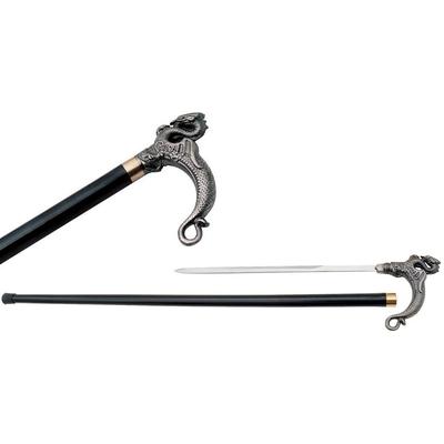 Canne épée 89cm dragon de marche - métal