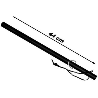 Matraque baton 44cm en caoutchouc - résistante et maniable