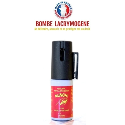 Bombe lacrymogène 15ml GEL CS - Lacrymo défense