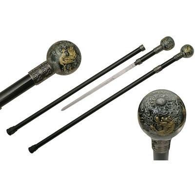 Canne épée 91,5cm de marche - design Dragon
