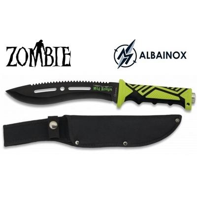 Poignard couteau 32cm de combat - Design ZOMBIE
