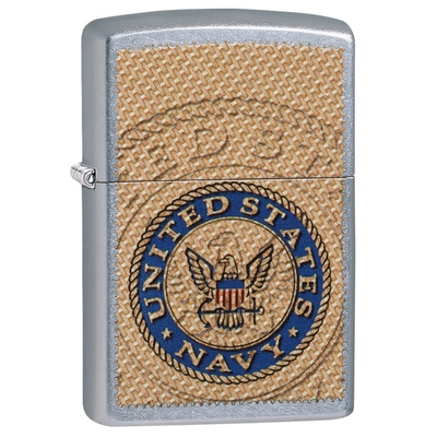 Briquet Zippo officiel - Navy United States USA.