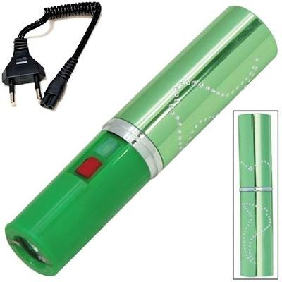 Taser shocker 2.800.000 volts ! électrique vert - Make up tazer stun gun