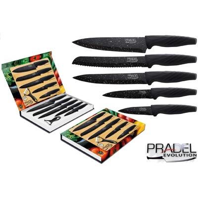 Coffret couteaux pradel couteau de cuisine table pierre noire - Pradel couteau cuisine ...