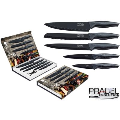 Coffret couteaux PRADEL couteau de cuisine table - Acier noir knife
