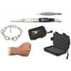 Coffret couteau pliant ALBAINOX + bracelet design menotte