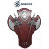 Lot 2 haches hachettes 50,5cm Romain socle ALBAINOX