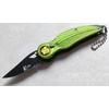 Couteau automatique à cran d'arrêt 13,2cm INDIEN vert