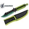 Poignard couteau 22,6cm full tang acier ALBAINOX