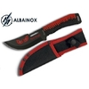 Poignard couteau 21cm full tang Red Eagle ALBAINOX