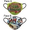 Masque de protection Freestyle tissus lavable réversible