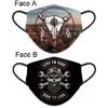Masque de protection USA Biker tissus lavable réversible