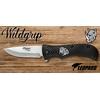 Couteau pliant 21cm LEOPARD design Rhinocéros