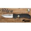 Couteau pliant 21cm LEOPARD design Aigle