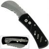 Couteau automatique 12cm compact noir - clip ceinture