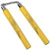 Nunchaku Dragon en mousse - idéal entraînement - jaune
