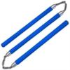 Nunchaku 3 batons mousse - bleu