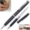 Ouvre lettre avec lame stylo - crayon noir