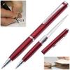 Ouvre lettre avec lame stylo - crayon rouge