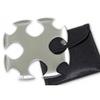 Etoile de jet + étui, shuriken - gris