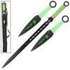 Pack Katana ninja + 2 kunaïs - épée kunai