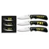 Coffret 3 couteaux SWAT police FBI - couteau