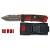 Couteau tactique titane G10 - RUI pompier