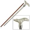 Canne épée 89cm de marche - Design Crocodile