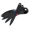 3 Couteaux black jet - couteau de lancer