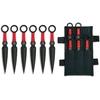 6 Couteaux de lancer kunai - ALBAINOX couteau