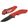 Couteau pliant de poche - rouge et noir