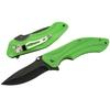 Couteau pliant de poche - vert tendance