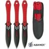 3 Couteaux de lancer 19cm couteau - ALBAINOX