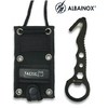 Couteau skinner décapsuleur clé - ALBAINOX multi-outil
