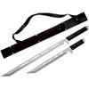 Lot 2 katanas full tang acier inox - Katana, machette, épée