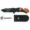 Couteau pliant 20cm SAMU urgence - design ALBAINOX