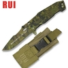 Couteau tactique TITANE 17,8cm camouflage - RUI