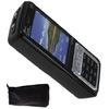 Téléphone portable taser électrique - noir 1.000.000 volts