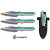 3 Couteaux de lancer 16,5cm Titane - ALBAINOX