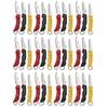 Lot de 36 couteaux pliants couleurs - Couteau ALBAINOX