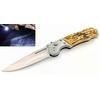 Couteau automatique 19,5cm à cran d'arrêt - Lampe LED