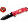 Couteau pliant 22cm POMPIER - design sapeur urgence