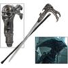 Canne épée 91,5cm de marche - Design collector ALIEN
